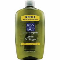 Kiss My Face Corp. Kiss My Face Liquid Soap Self Foaming Lemon and Ginger Refill 17.5 fl oz