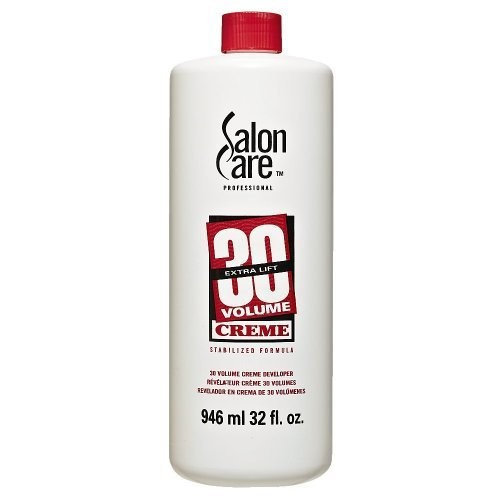 Salon Care 30 Volume Creme Developer 4 oz.
