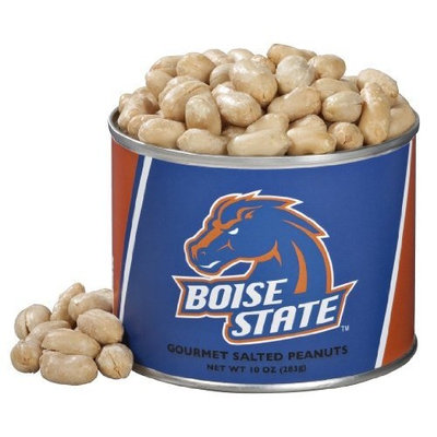 Virginia Diner Boise State University, Salted Peanuts, 10-Ounce (Pack of 4)