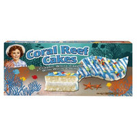 Little Debbie Coral Reef Cakes White 9.50 oz 5 ct