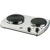 Kalorik Chrome Double Cooking Plate