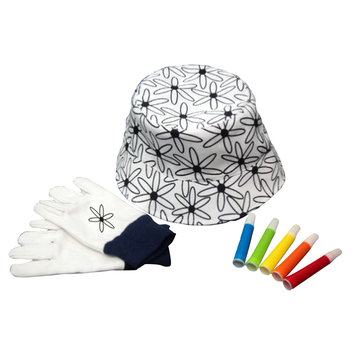 Commerce Llc Ray Padula Grow With Me Kids Hat w/ Markers - COMMERCE LLC