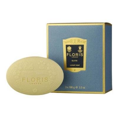 Floris Elite by Floris London for Men 3 x 3.5 oz Luxury Soap
