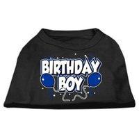Mirage Pet Products 51-05 XXLBK Birthday Boy Screen Print Shirts Black XXL - 18