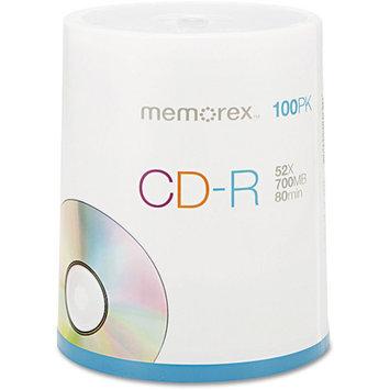 Memorex 04581 100 Pack 52X CD-R Spindle - 700MB