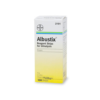 Albustix Reagent Strips for Urinalysis