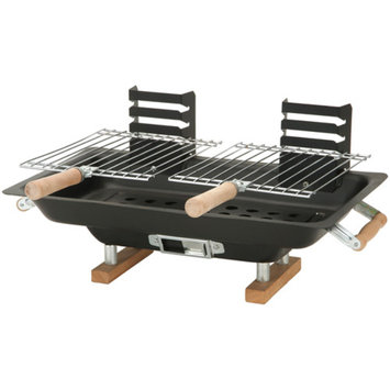 Kay Home Products Akerue Industries 30002 10-inch X 17-inch Steel Hibachi Grill
