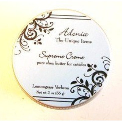 Adonia Lemongrass Verbena Supreme Cream - 2 Oz.