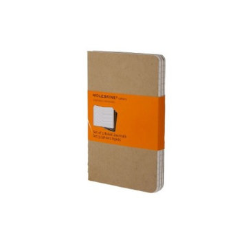 Moleskine Cahier Ruled Pocket Notebook Assorted Colors
