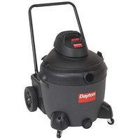 DAYTON 4TB87 Wet/Dry Vacuum, 6.5 HP, 18 gal, 120V
