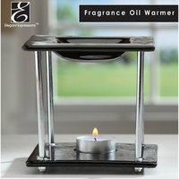 Elegant Expressions by Hosley Ceramic and Metal Oil Warmer