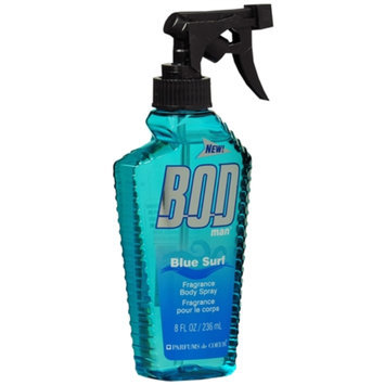 BOD man Body Spray, Blue Surf, 8 oz
