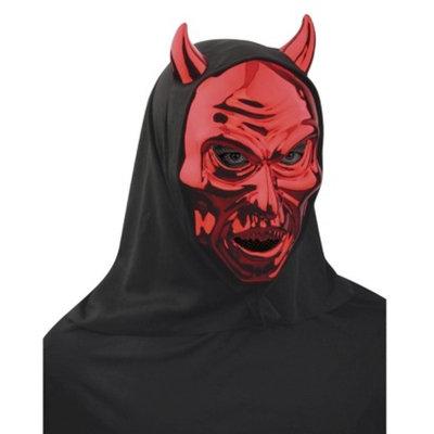Seasons Halloween Red Shiny Devil Mask