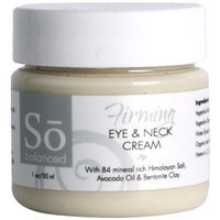 So Balanced Firming Under Eye and Neck Cream, 1-Ounce/30ml Jar