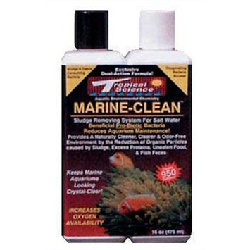 Tropical Science Labs ATCMCL320 Marine Clean, 8-Ounce