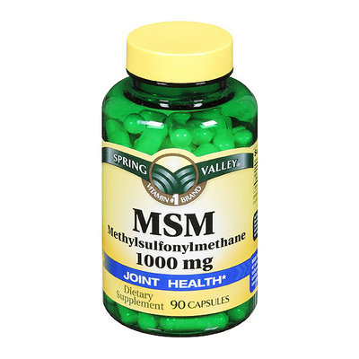 Spring Valley MSM Supplement 1000mg