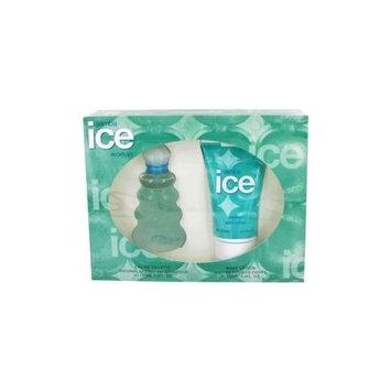 Samba Ice By Perfumers Workshop Gift Set -- 3.4 Oz Eau De Toilette Spray + 4.4 Oz Body Lotion For Women