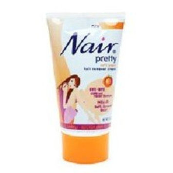 Soft Peach Hair Remover Cream By Nair Pretty for Unisex Hair Remover, 5.4 Ounce