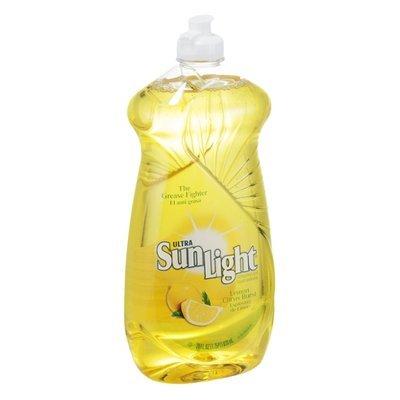 Sun Light Ultra Dishwashing Liquid Lemon Citrus Burst