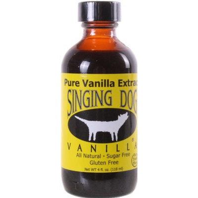 Nunaturals Singing Dog Pure Vanilla Extract 4 fl oz