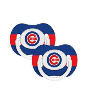 Baby Fanatic MLB 2-Pack Baby Pacifiers - Chicago Cubs