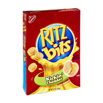 Nabisco RITZ Kickin' Cheddar Cracker Sandwiches