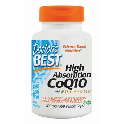 Doctor's Best High Absorption CoQ10 100mg with Bioperine Doctors Best 360 VCaps