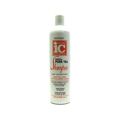 Fantasia Ic Fantasia Shampoo IC Tea 16 oz. (3-Pack) with Free Nail File