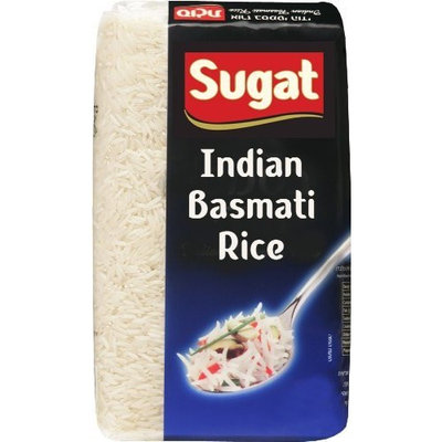 Sugat Indian Basmati Rice (Kosher for Passover), 2-Pound Packages (Pack of 4)