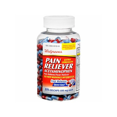 Walgreens Pain Reliever Quick Gels