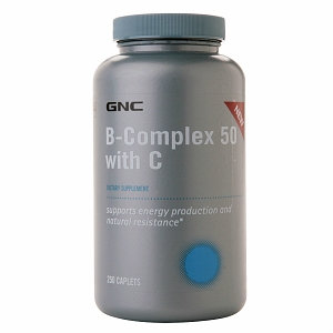 GNC Vitamin B-Complex 50 with C