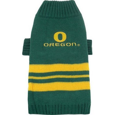 Pets First Inc. Pets First 302712 Oregon Ducks Dog Sweater Small