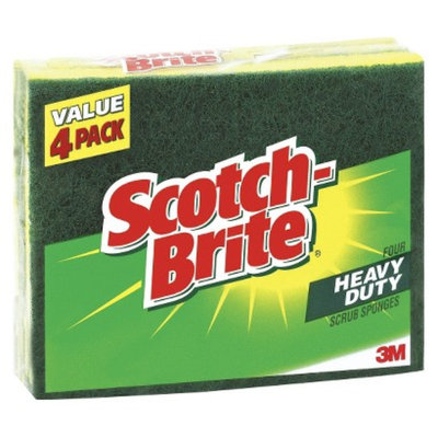 4ct HD Scrub Sponge Scotch-Brite