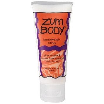Zum Body Lotion Tube - Sandalwood Citrus - 2 oz