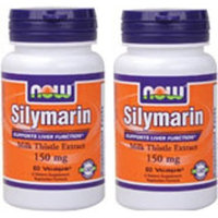 Now Foods Silymarin 150mg, Veg-capsules, 60-Count