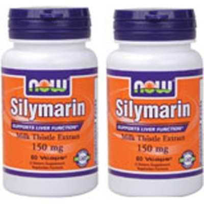 Now Foods Silymarin 150mg, Veg-capsules, 60-Count