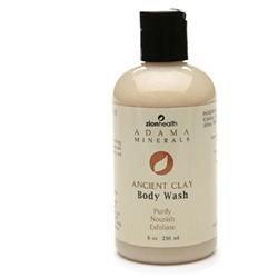 Zion Health Adama Clay Body Wash, 8 oz