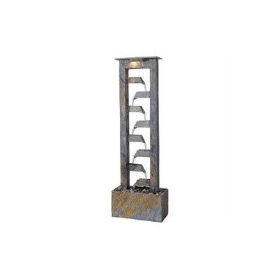 Kenroy Home 50254SL Aqueduct Floor Fountain- Natural Slate Finish