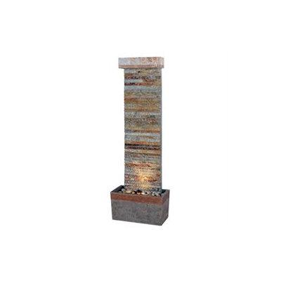 Kenroy Home 50293SLCOP Tacora Horizontal Floor Fountain