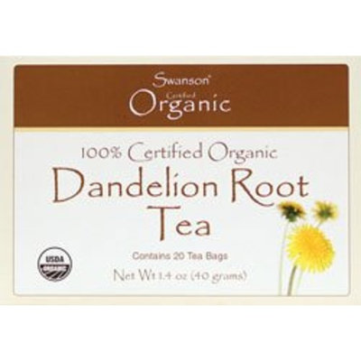 Swanson Organic Dandelion Root Tea 20 Bag(S)