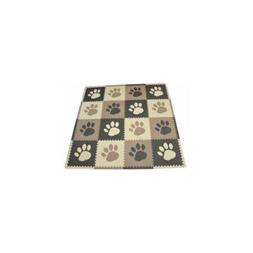 16-Piece Set Playmat - Pawprint by Tadpoles