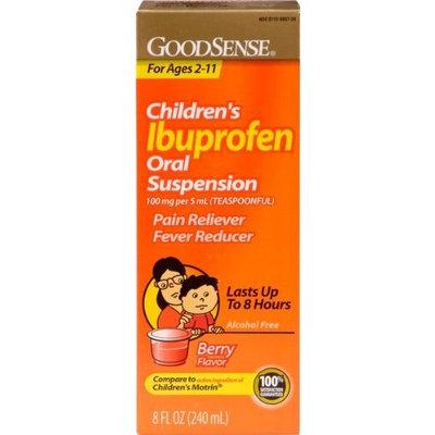 Good Sense Children's Ibuprofen Oral Suspension 100 Mg Berry