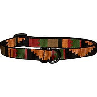 Bison Pet Rasta Adjustable Nylon Dog Slip Collar