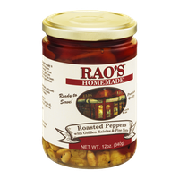 Rao's Homemade Roasted Peppers with Golden Raisins & Pine Nuts