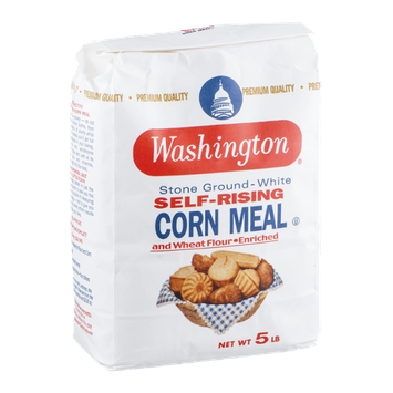 Washington Corn Meal Stone Ground-White Self-Rising