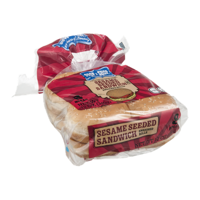 Stop & Shop 100th Anniversary Sesame Seed Sandwich Rolls - 8 CT