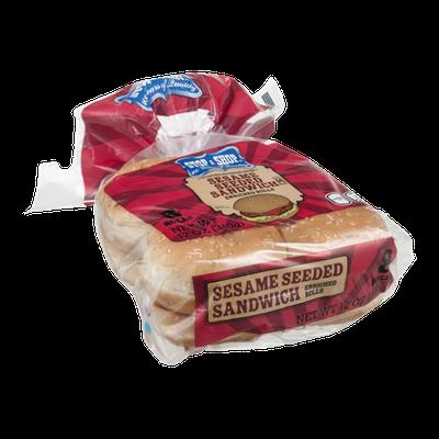 Stop & Shop 100th Anniversary Sesame Seed Sandwich Rolls - 8 CT