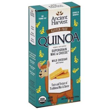 Ancient Harvest Gluten-Free Quinoa Mild Cheddar Supergrain Mac & Cheese with Llamas, 6.5 oz, (Pack of 12)