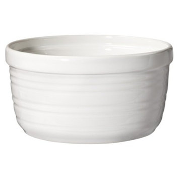 Threshold Horizontal Striped Ramekin Set of 4 - White (Large)