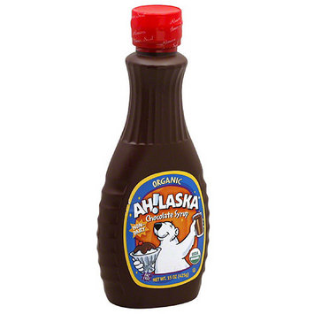 AH!LASKA Chocolate Syrup, 15 oz (Pack of 12)